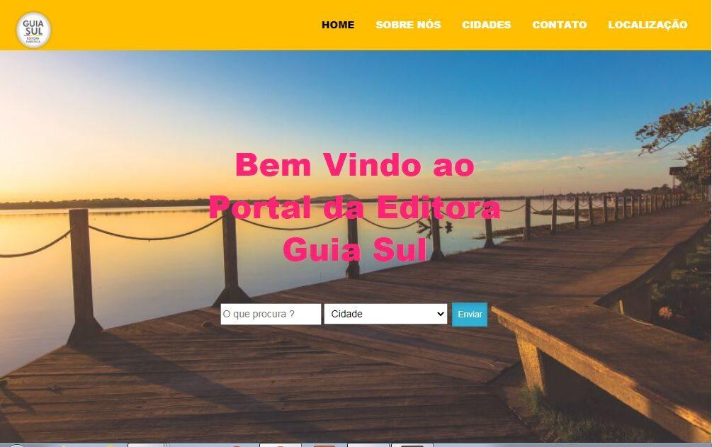 Criação do Site para a Editora Guia Sul