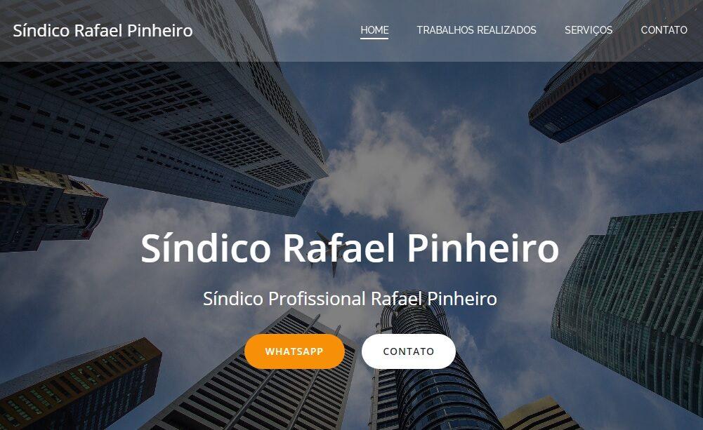 Criação do Site para o Síndico Profissional Rafael Pinheiro
